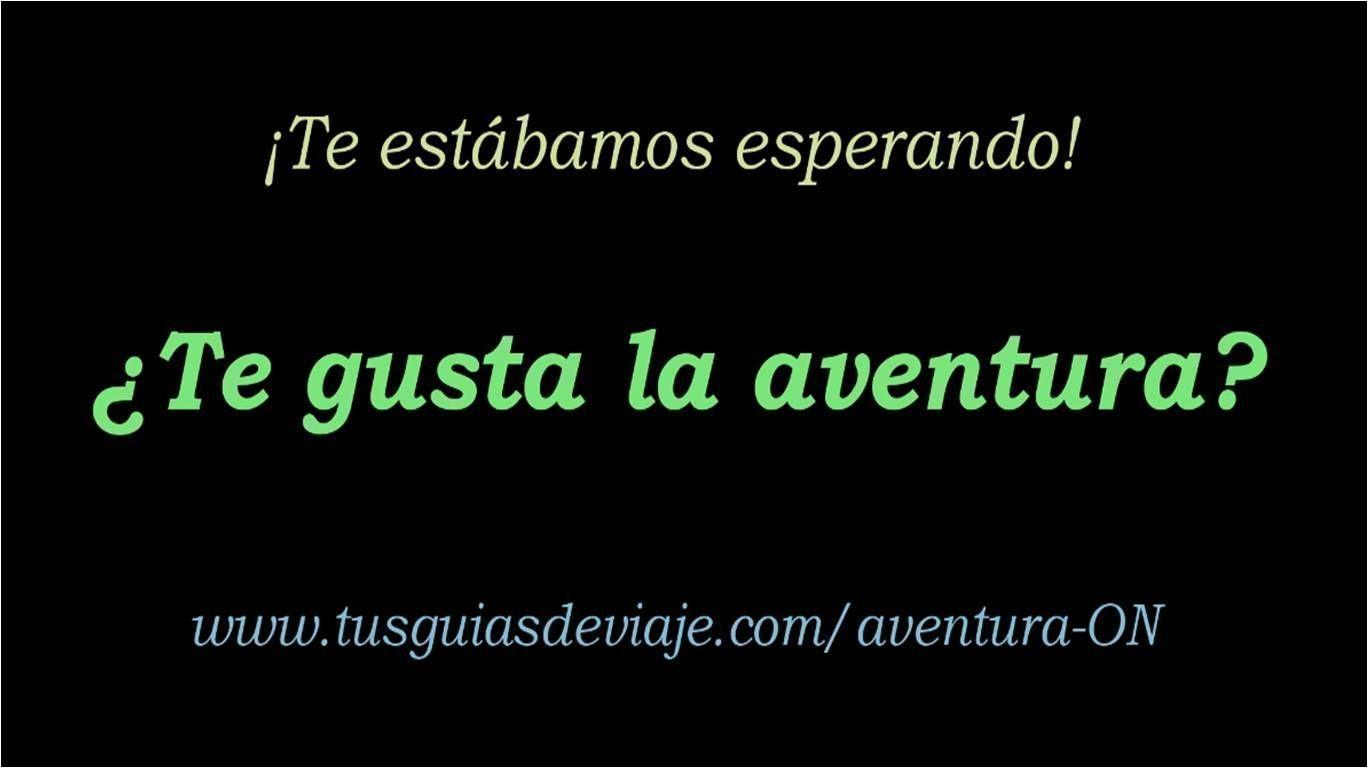 ¡Vídeos de aventura!