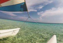 Catamarán en cuba