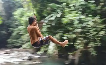 Salto tarzán Costa Rica