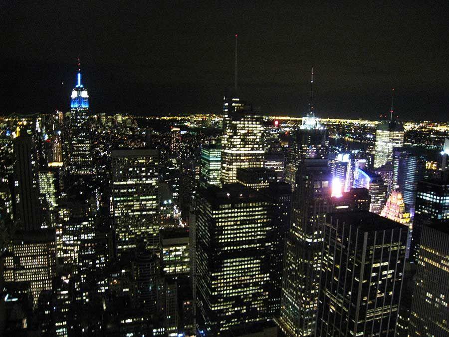 Vistas en Nueva York desde el Rockefeller Center - Tusguiasdeviaje