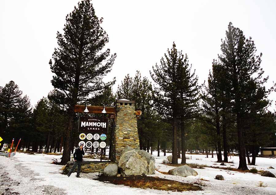 Pueblos Costa Oeste EEUU Mammoth Lakes - Tusguiasdeviaje