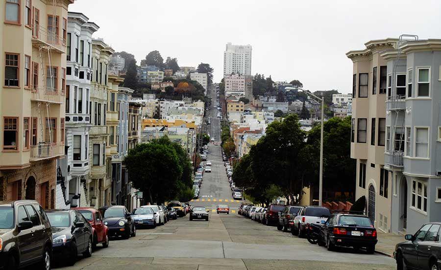 Calles de San Francisco Costa Oeste EEUU - Tusguiasdeviaje