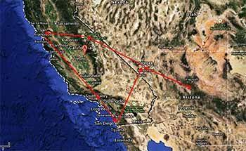 Roadtrip Costa Oeste Estados Unidos 15 dias - Tusguiasdeviaje