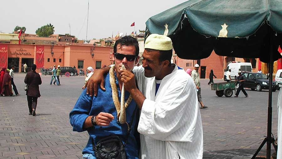Plaza Jamaa El Fna Marrakech - Tusguiasdeviaje
