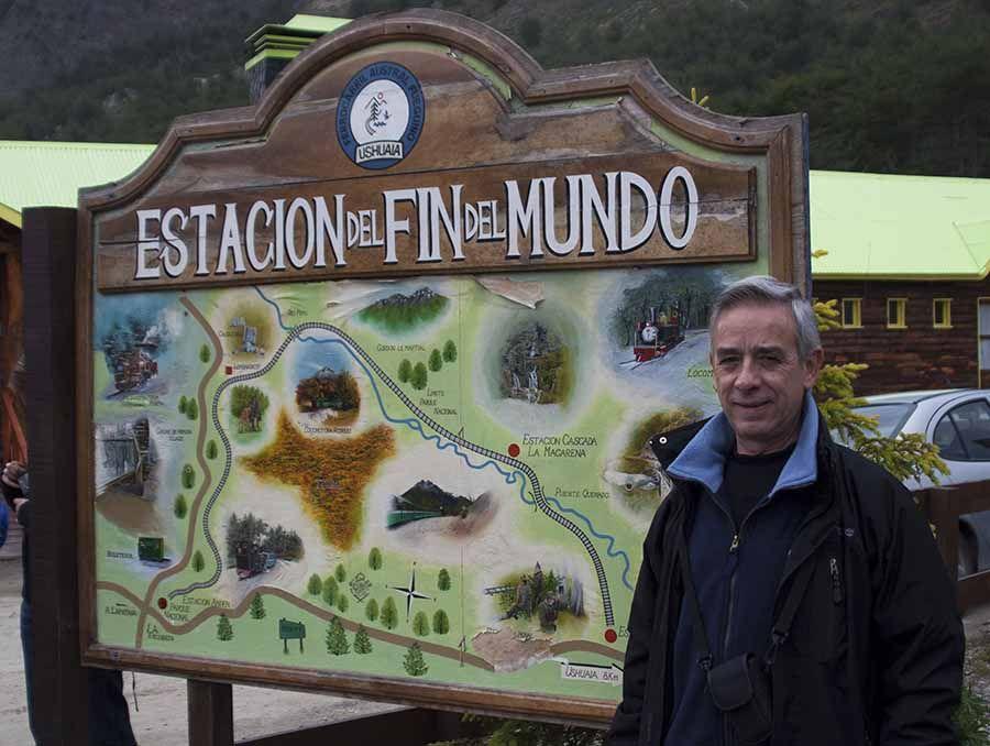 Estacion del fin del mundo en Usuahia - Argentina - Tusguiasdeviaje