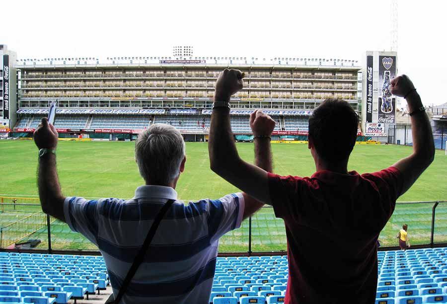 Futbol en Argentina - La Bombonera - Tusguiasdeviaje