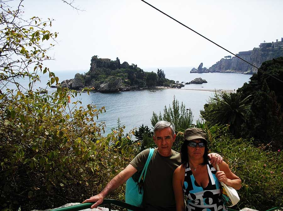 Las mejores playas de Sicilia - Isola Bella - Tusguiasdeviaje