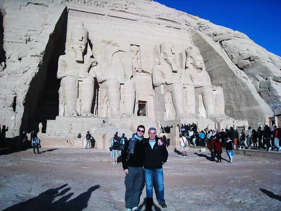 Visitar templo Abu Simbel Egipto