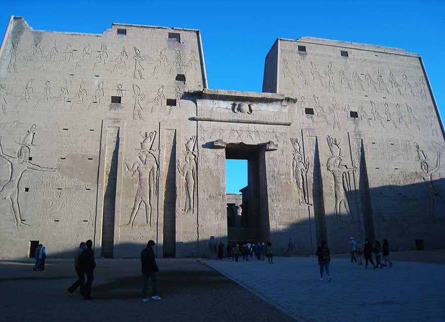 Templo Edfu en Egipto