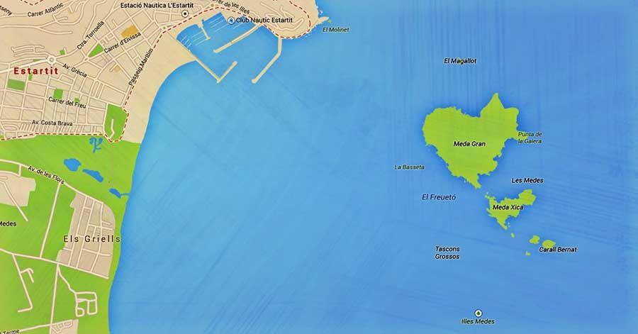 Como llegar a las Islas Medas Costa Brava - Tusguiasdeviaje