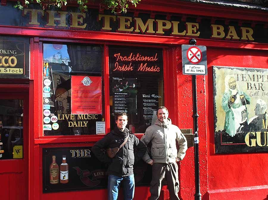 Visitar Temple Bar en Dublin