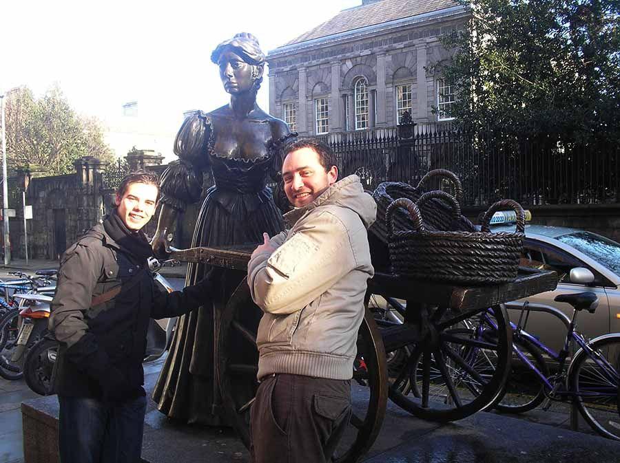 Molly Malone en Dublin