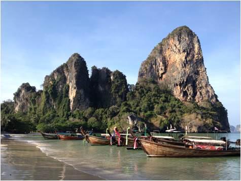 Railei beach Tailandia