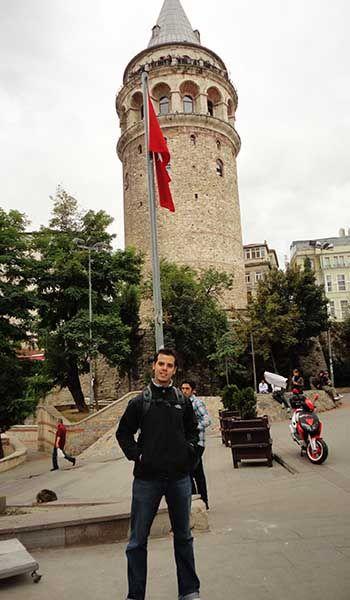 Monumentos en Estambul - Torre Galata