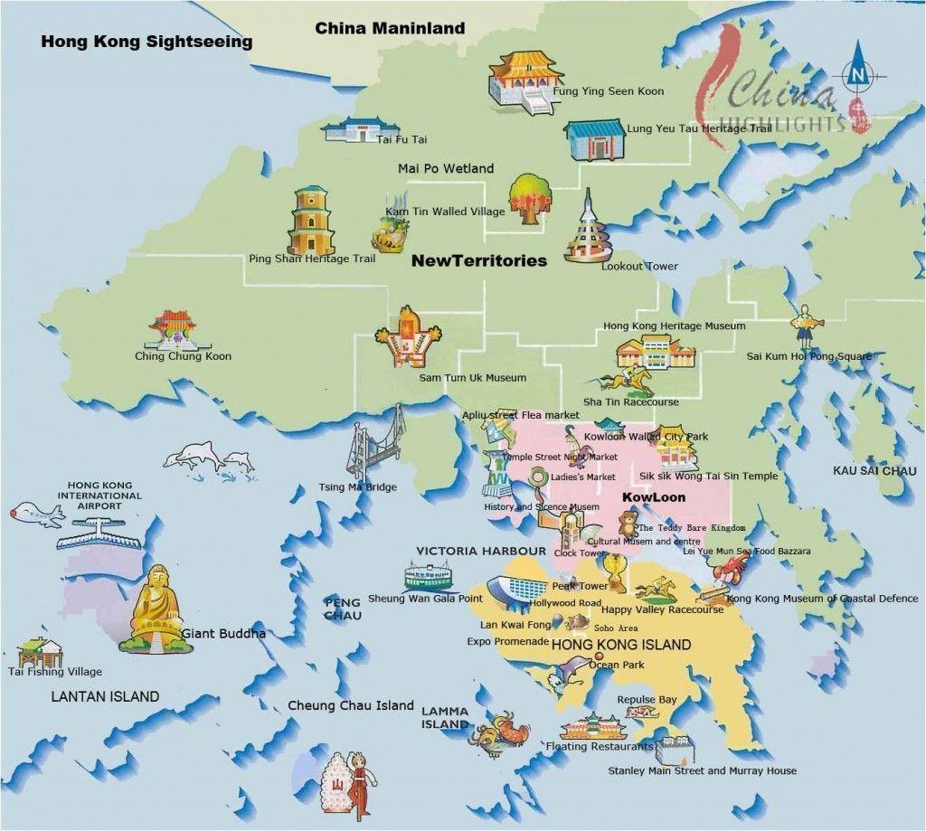 tus guias de viaje - hong kong mapa