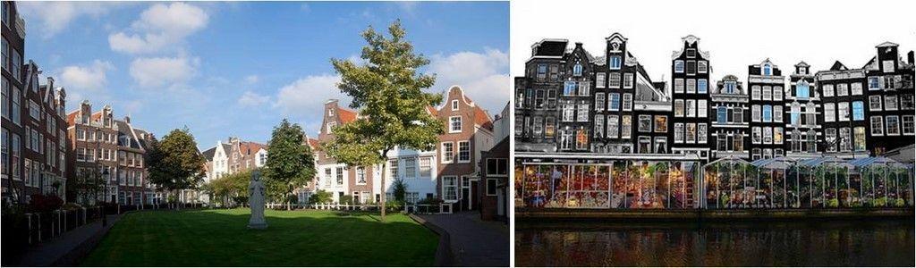tus guías de viaje-Amsterdam-Begijnhof-mercado de las flores