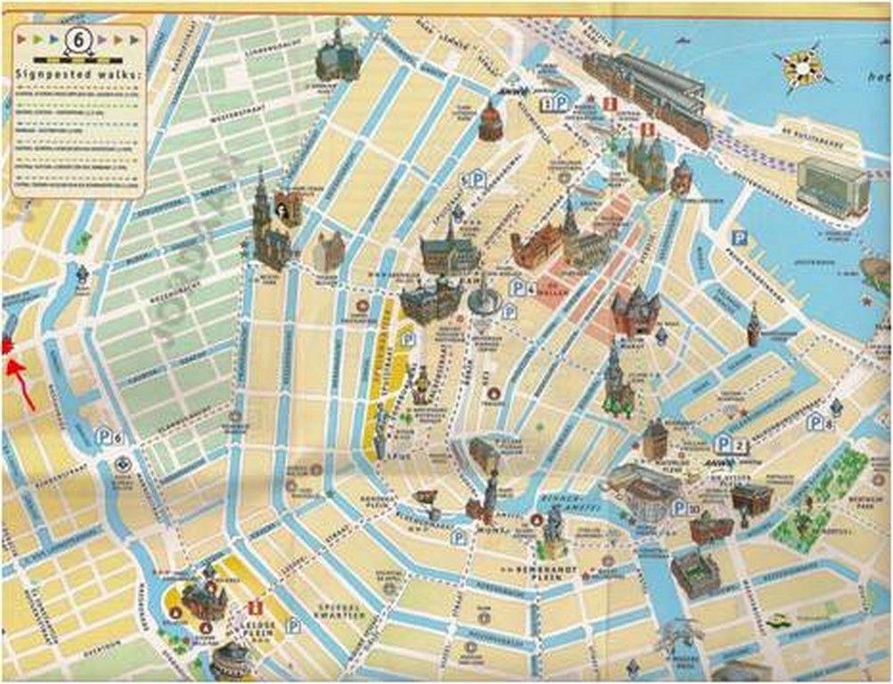 tus guías de viaje-Amsterdam-map