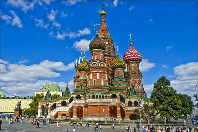 Catedral de San Basilio-Moscú