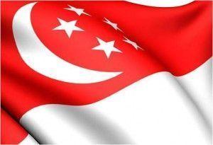 Viajar a Singapur-Bandera