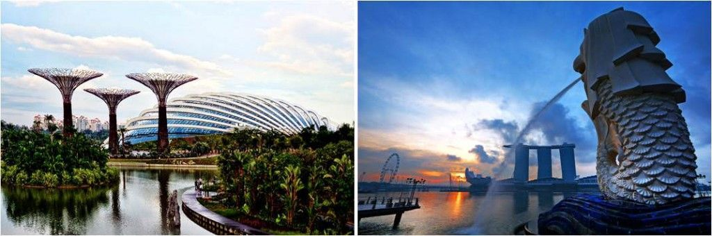 Viajar a Singapur-Garden by the bay-Merlion Park