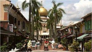 Viaje a Singapur-Barrio árabe