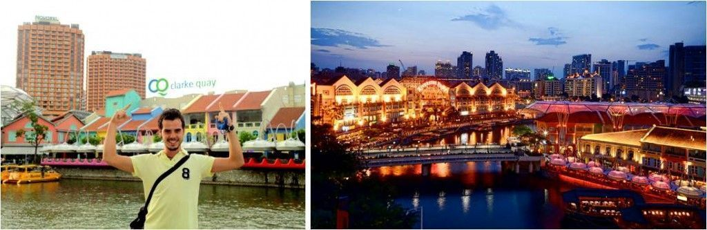 turismo en Singapur-Clarke Quay
