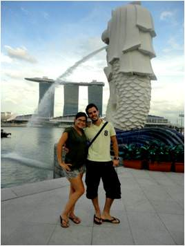 turismo en Singapur-Marina sands Bay views