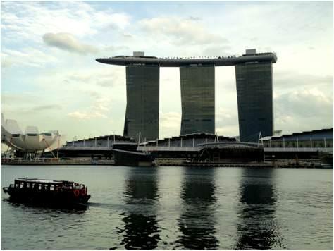 turismo en Singapur-Marina sands Bay