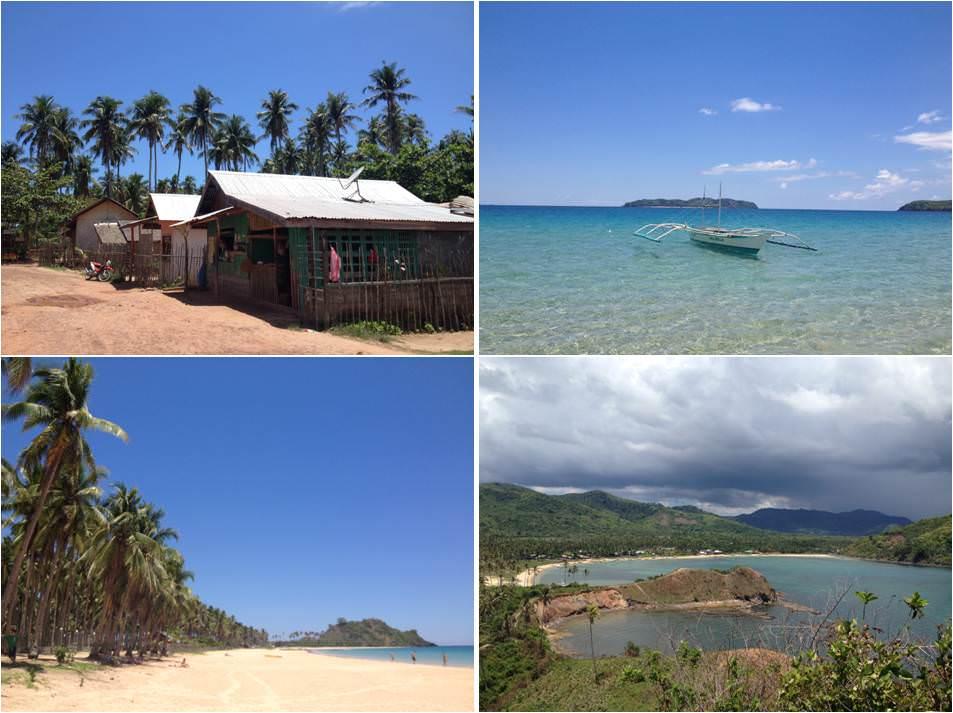 Qué hacer de turismo en Filipinas-Playa de Nacpan el nido
