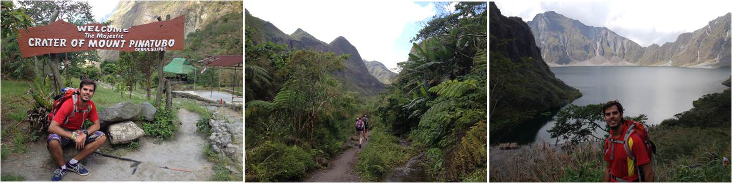 Turismo en Filipinas-cráter del volcán pinatubo
