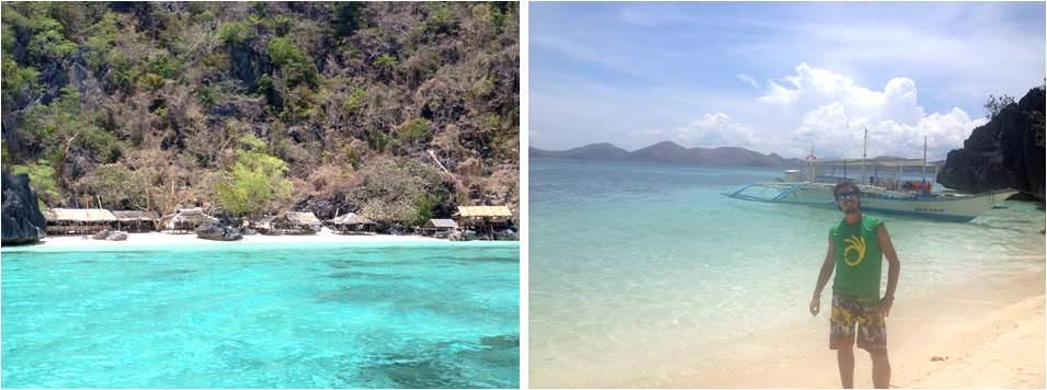 Viajar a Filipinas-Tour B playas de Corón