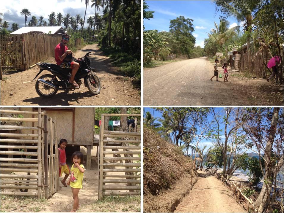 turismo en filipinas-ruta en moto por Palawan