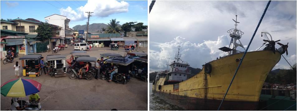 viaje de turismo a Filipinas-coron town