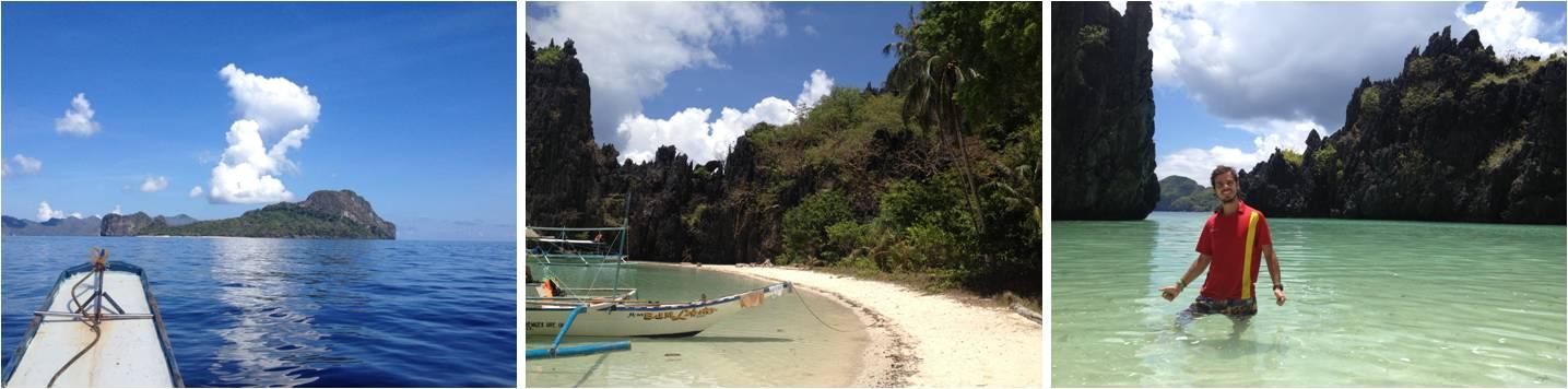 viaje de turismo a Filipinas-playas de El Nido