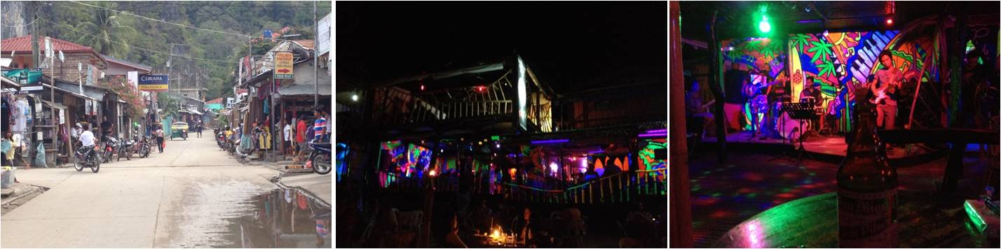 viaje de turismo a Filipinas-reggae bar el nido