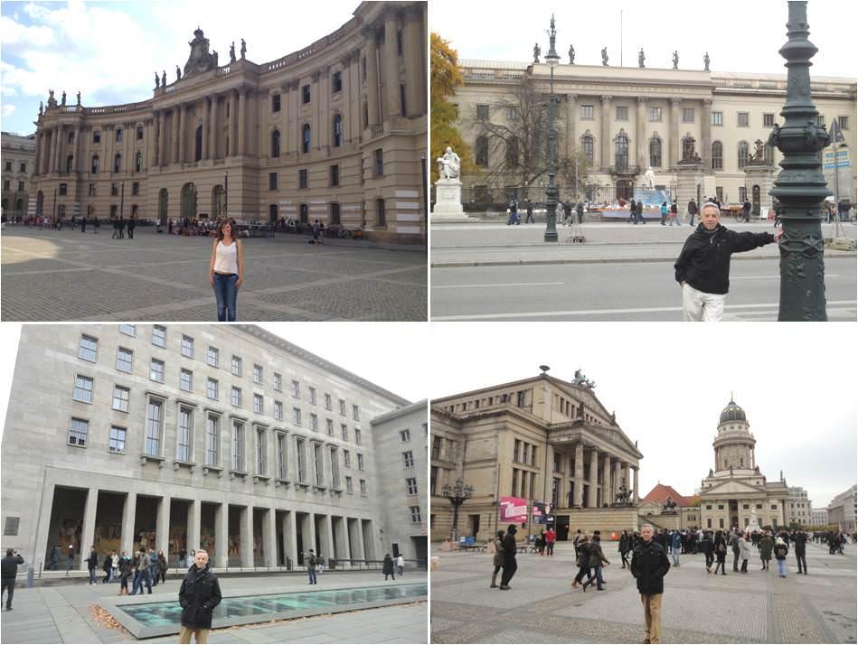 Ex cuarteles de la SS - Plaza de la tolerancia - Universidad de Humbolt - turismo en berlín
