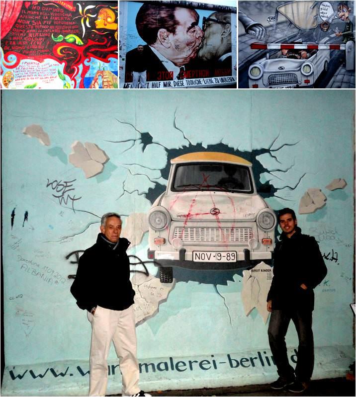 Muro de Berlín - Viaje a Berlín