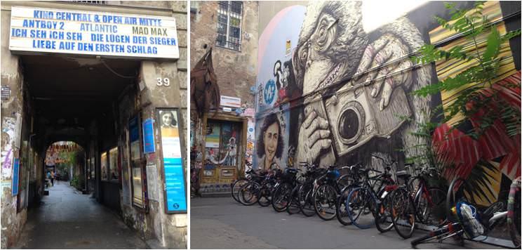 Patios interiores de Berlín - Lugares para visitar en Berlín