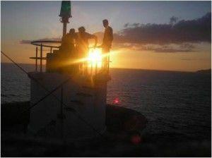 Puestas de Sol en Vigo-Faro de Monteferro