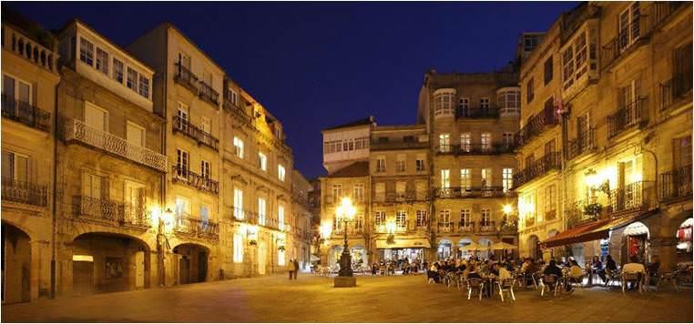 Barrio de Vinos en Vigo