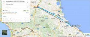 Cómo llegar de Bolonia a circuito Misano Adriático