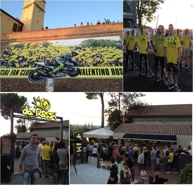 Tavullia-El pueblo de Valentino Rossi