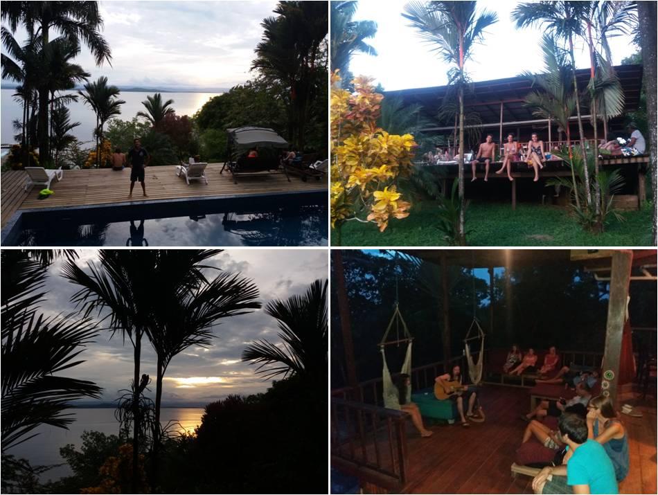 Bambuda Lodge en Isla Solarte
