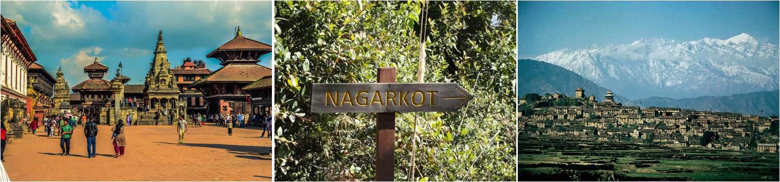 Bhaktapur - nagarkot - Kirtipur