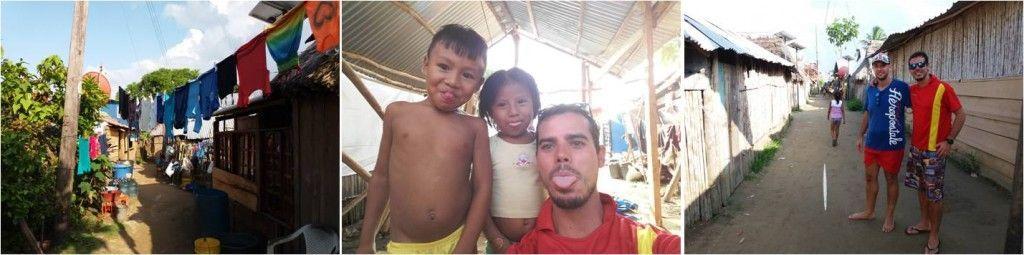 Pueblo Kuna en Islas de San Blas Panamá