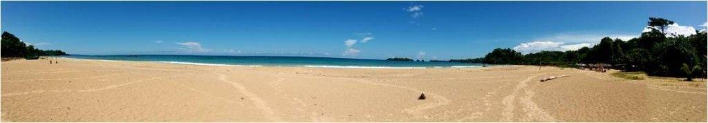 Turismo en Bocas del Toro - Playa de Red Frog