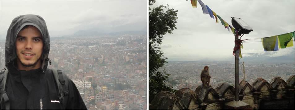 Turismo en Kathmandu - Vistas desde el templo de los monos