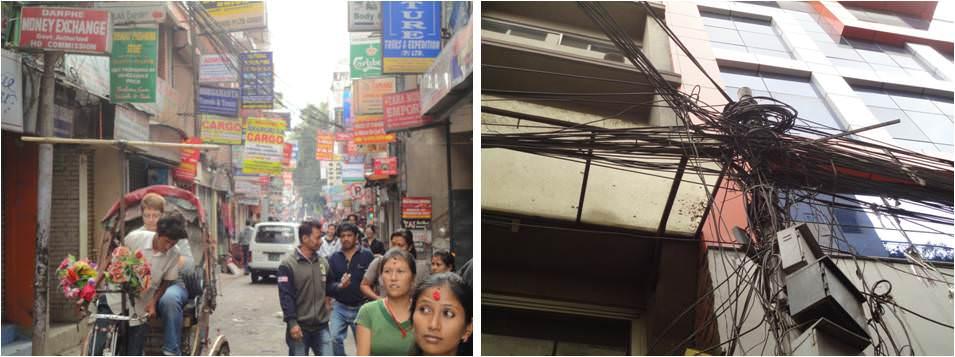 Viajar a Kathmandu - Barrio de Thamel