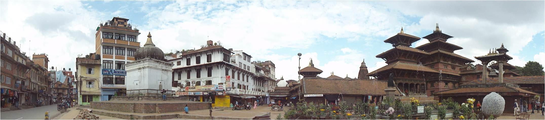 Viajar a Nepal Plaza Durbar