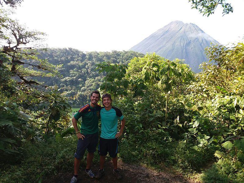 Volcán Arenal y Cerro Chato
